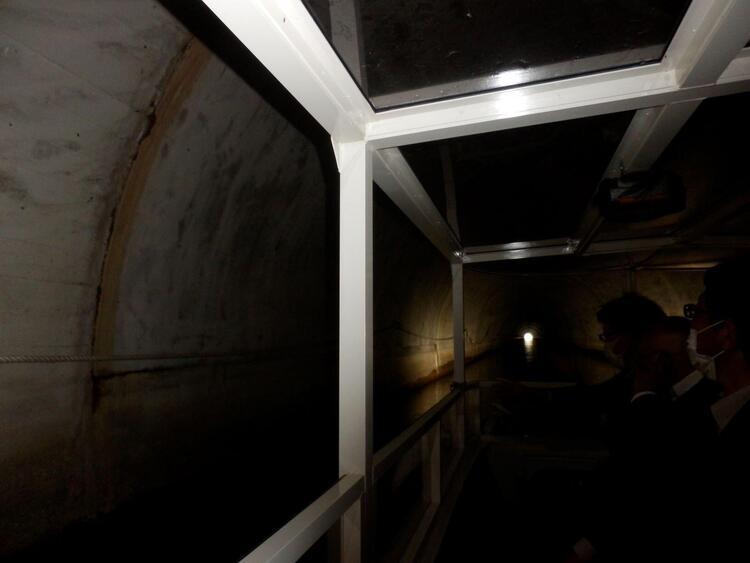 びわ湖疏水船 第一トンネル