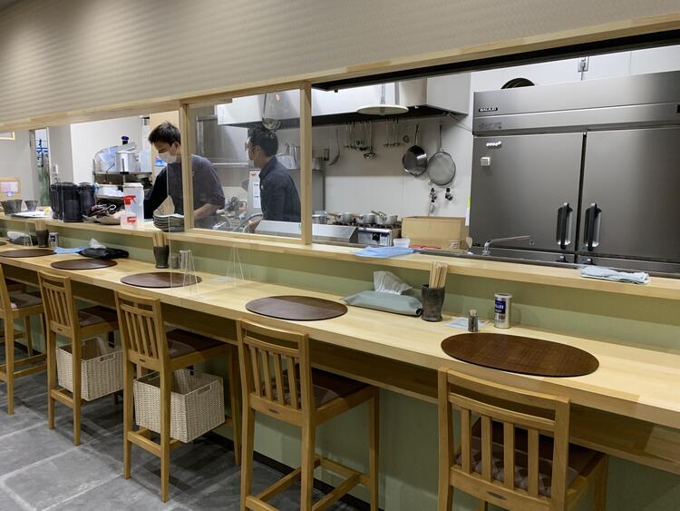 時雨製麺所 店内