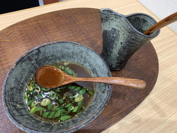 時雨製麺所 出汁割2