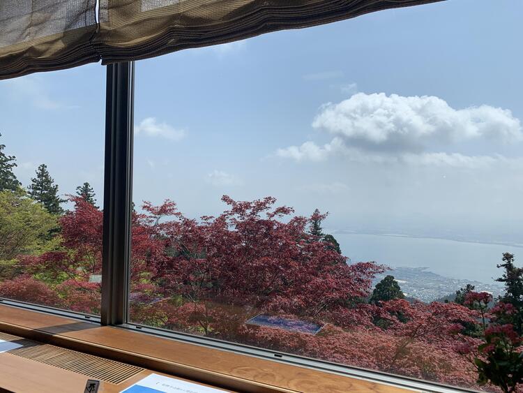 延暦寺会館からの眺め