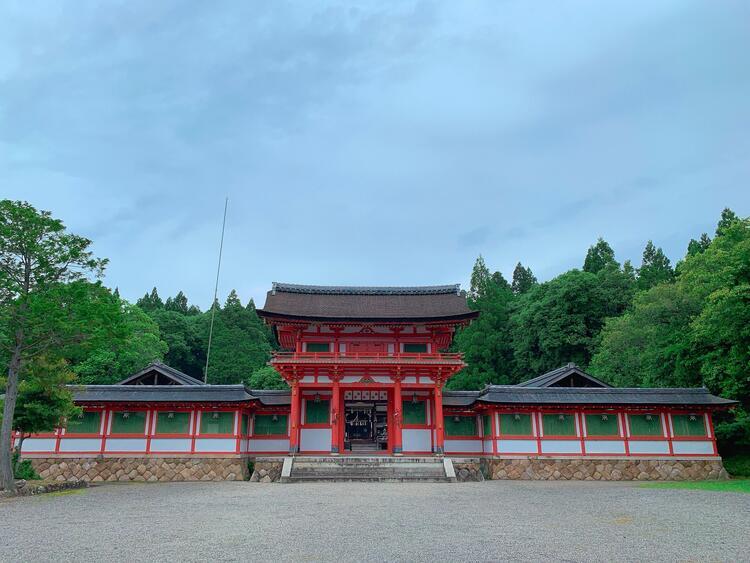 大鳥神社 楼門