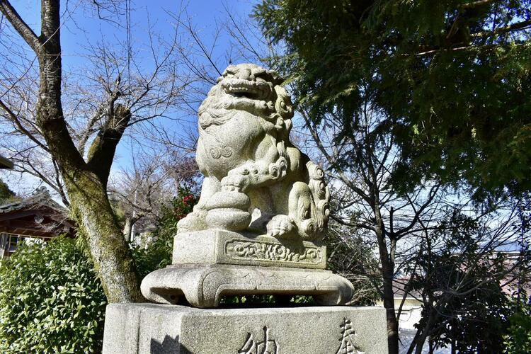 平野神社狛犬