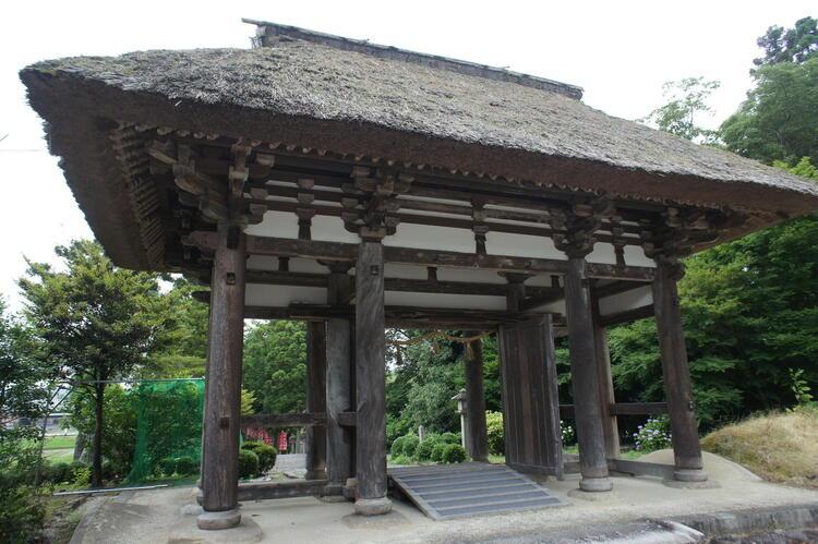 矢川神社 楼門