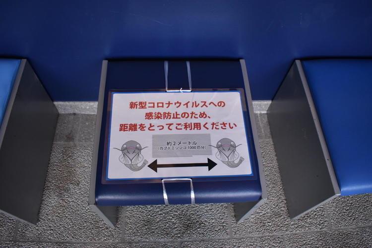 琵琶湖博物館コロナ対策