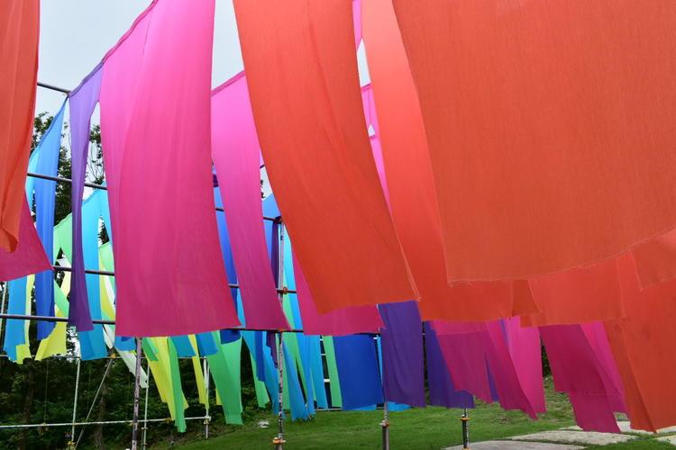 びわこ箱館山虹のカーテン