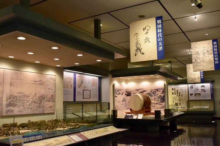 大津市歴史博物館館内