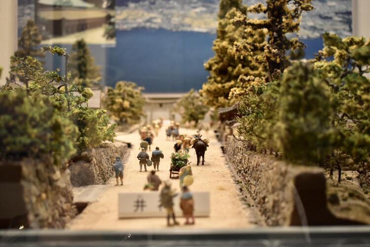 大津市歴史博物館ジオラマ