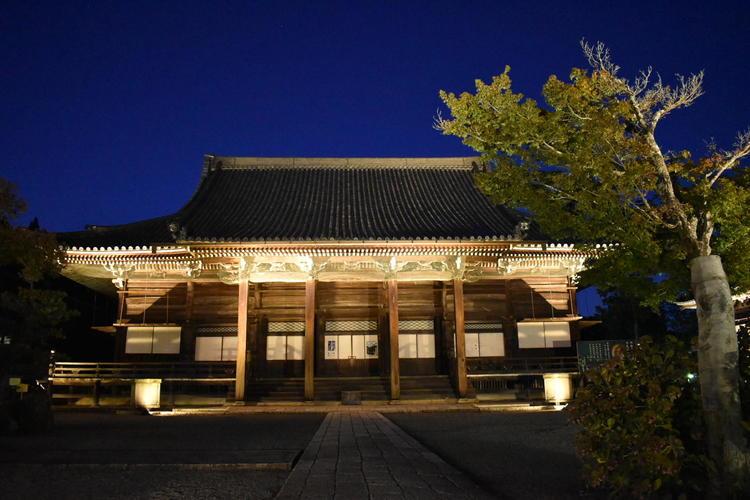 西教寺ライトアップ1