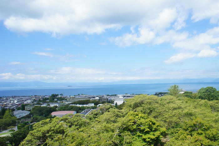 彦根城 琵琶湖 一望